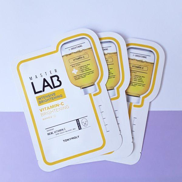 Master Lab Vitamin-C Brightening Mask Sheet - TonyMoly