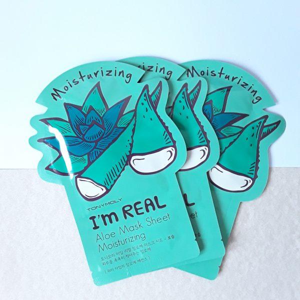 I'm Real Aloe Moisturizing Mask Sheet - TonyMoly