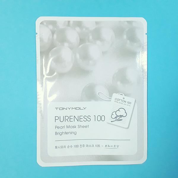 Pureness 100 – Pearl Mask Sheet – TonyMoly