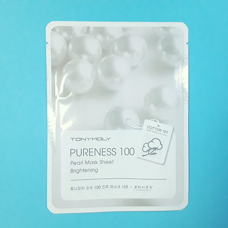 Pureness 100 - Pearl Mask Sheet - TonyMoly