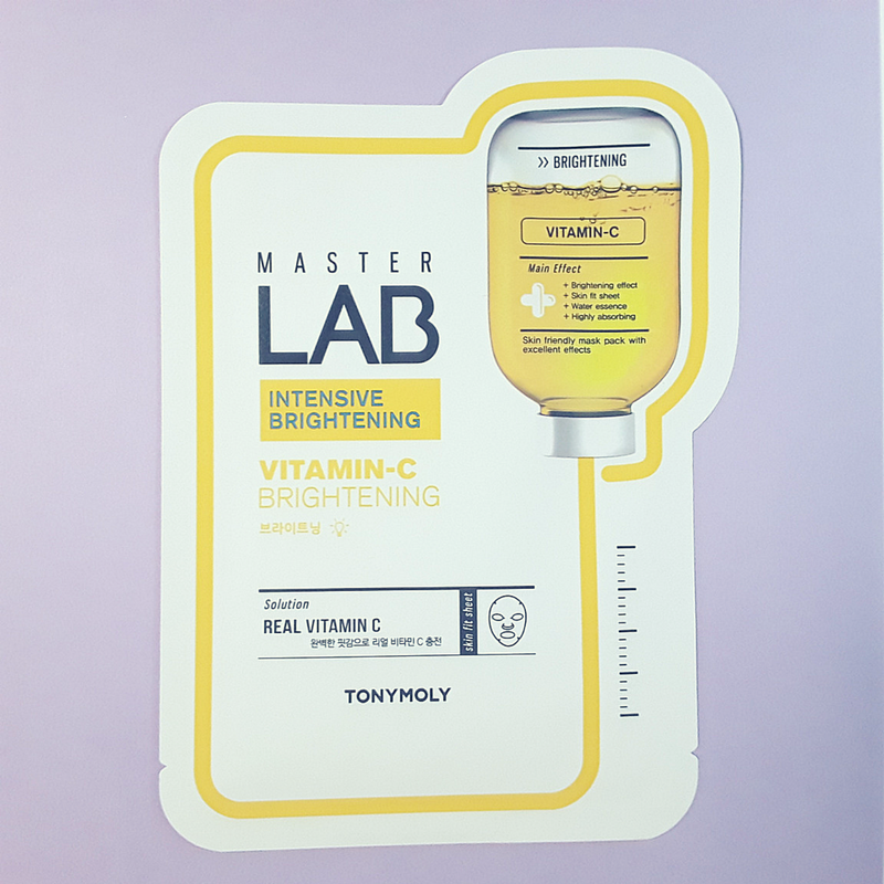Master Lab Vitamin-C Brightening Mask Sheet - TonyMoly