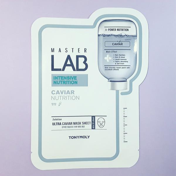 Master Lab Caviar Nutrition Mask Sheet – TonyMoly