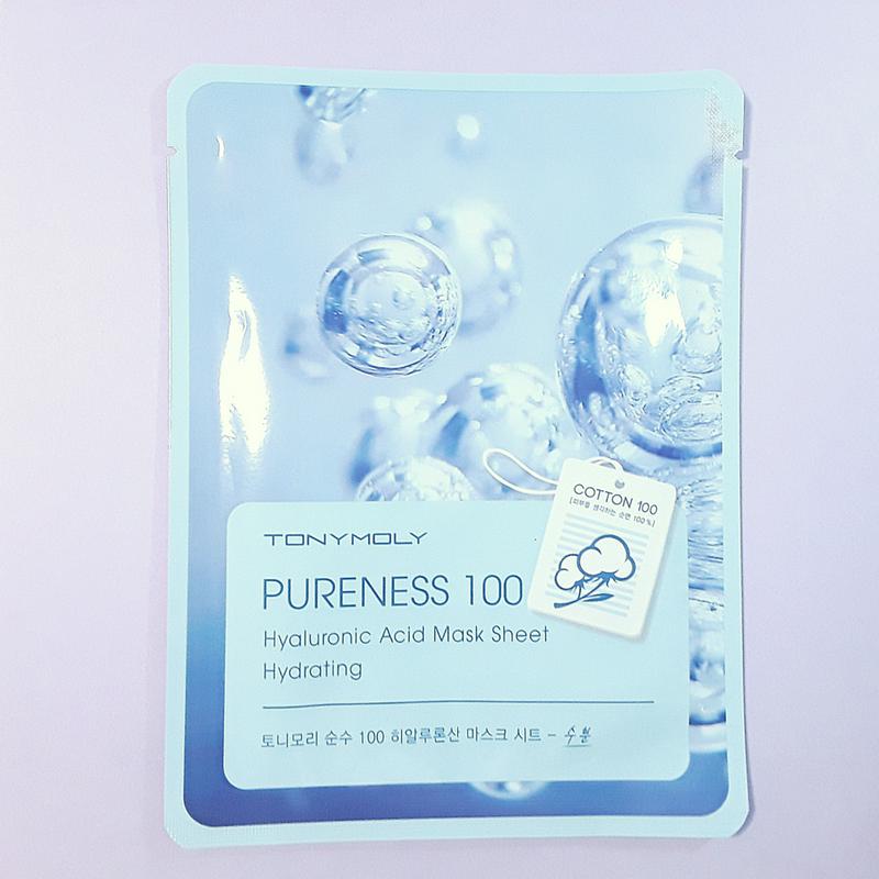 Pureness 100 - Hyaluronic Acid Mask Sheet - TonyMoly