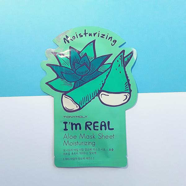 I'm Real Aloe Moisturizing Mask Sheet – TonyMoly