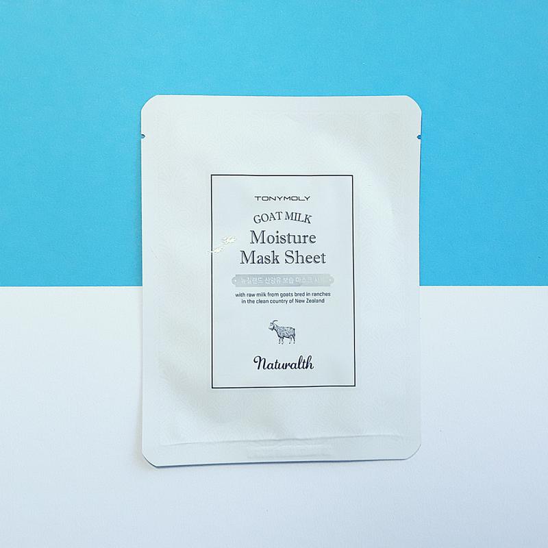 Goat Milk Moisture Mask Sheet - TonyMoly