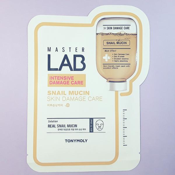 Master Lab Snail Mucin Mask Sheet – TonyMoly
