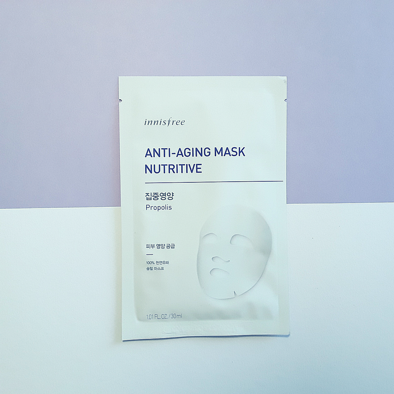 innisfree Anti-Aging Mask Nutritive - Propolis
