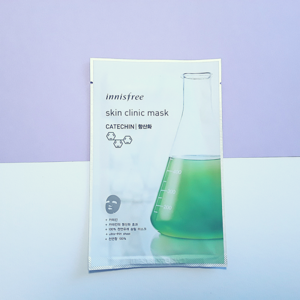 Skin Clinic Mask Sheet – Catechin – innisfree