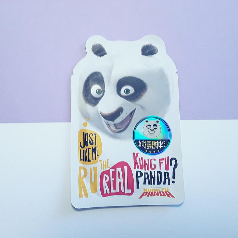 Kung Fu Panda - Panda Mask Sheet