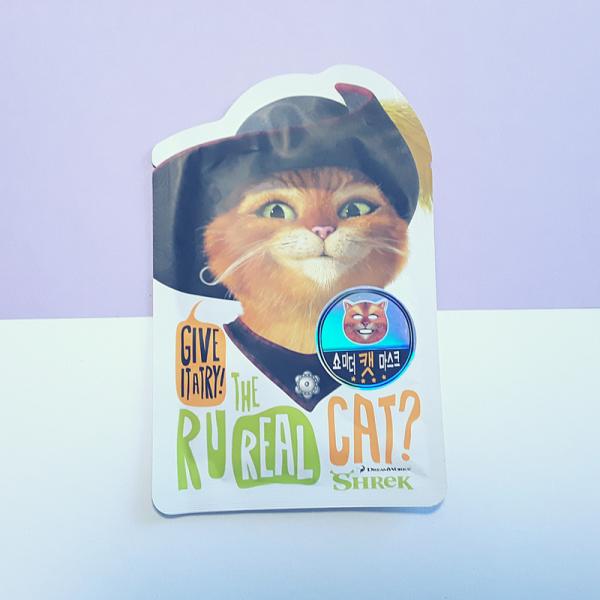 Puss in Boots – Shrek Cat Mask Sheet