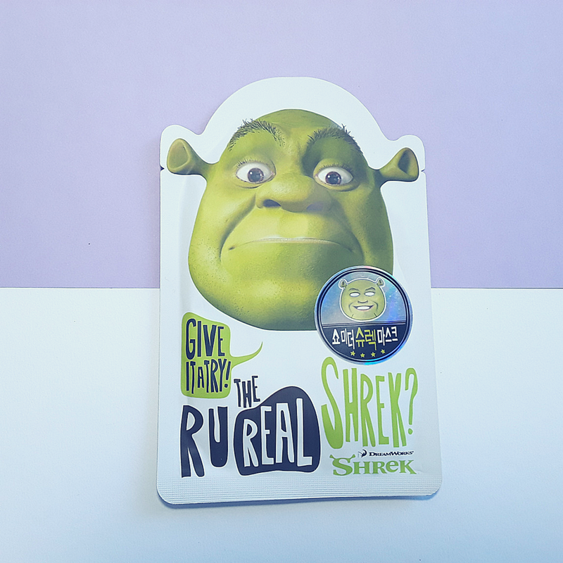 The Real Shrek Mask Sheet