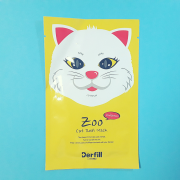 Zoo Line - Cat Real Mask Sheet - Derfill