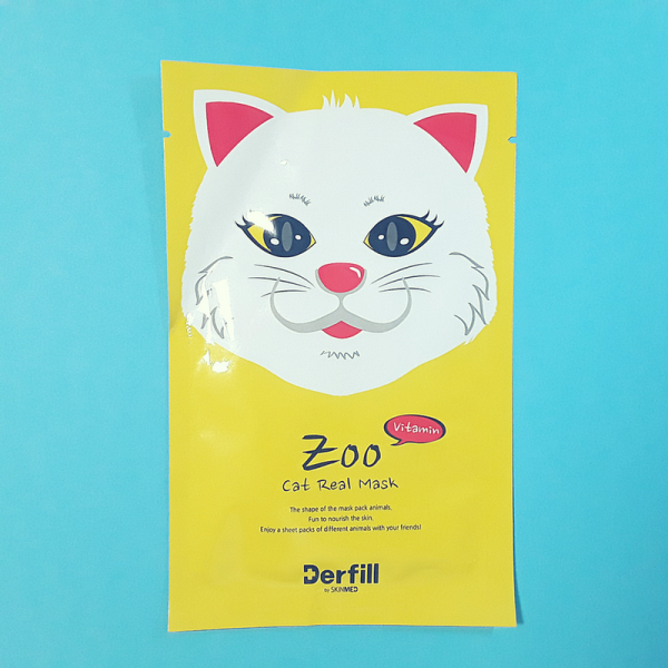 Zoo Line – Cat Real Mask Sheet – Derfill